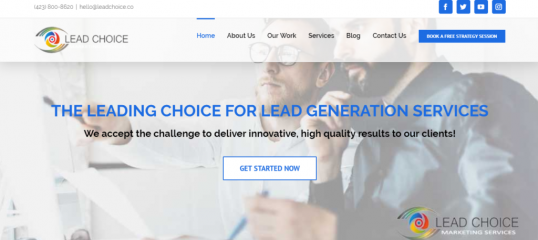 lead choice marketing